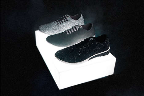 "Lunar Sneaker Collections - The Muroexe ""H.O.P.E."" Capsule Collection Features Moon-Inspired Shoes"