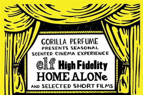 Scented Film Screenings - Lush Cosmetics' Immersive Theater Event for Christmas is Multi-Sensory