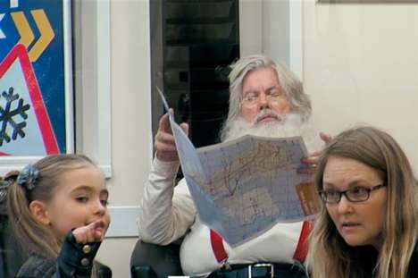 Magical Santa Stunts - Kwik Fit Surprises Kids While Saint Nick Gives His Sleigh a Tune-Up