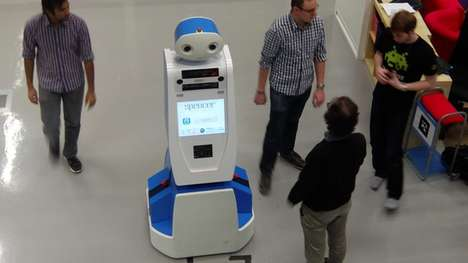 Airport Service Robots - The Spencer Customer Service Robot Helps Passengers Make Their Flights