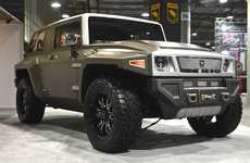 The Rhino XT Was Created From a Redeveloped Jeep Wrangler