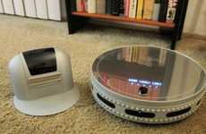 The bObi Pet Robotic Vacuum Cleaner Sucks Up Pet Hair