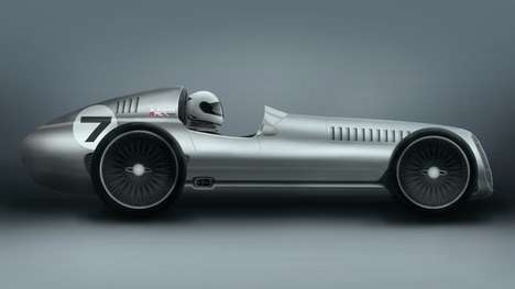 Retro Racing Cars - The Speed 7 is Inspired By 1930s Grand Prix Race Cars