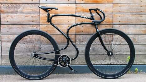 Hip Fixed-Gear Bicycles - This Fixed-Gear Bike Was Manufactured By Sync Bicycles