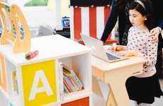 The StandUp Desk Can Be Used By Both Children and Adults