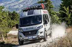 The 4x4 Ducato Expedition Camper Show Van Has Extensive Storage Space