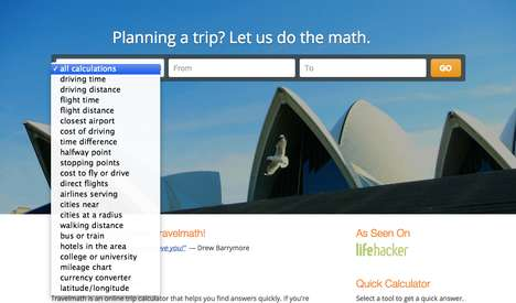 In-Depth Trip Calculators - Travelmath Helps You Uncover More Complex Aspects of Trip Planing