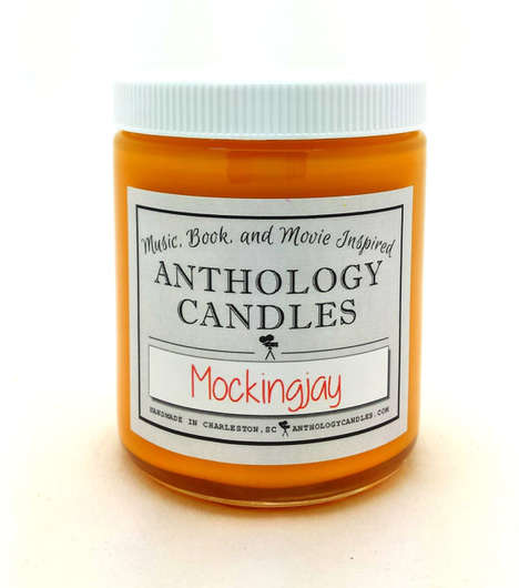 Film-Fragranced Candles - This Mockingjay Movie Candle is Inspired by Scents in the Hunger Games