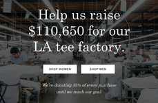 Factory Fundraising Initiatives - Everlane's Black Friday Campaign Redirects Funds to Help Workers