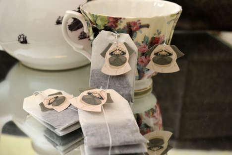 Dog Tea Tags - These Tea Bag Accessories are Absolutely Adorable and Perfect for Pug Lovers
