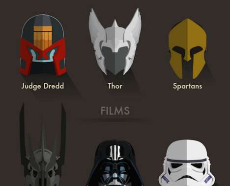 Iconic Character Helmet Guides