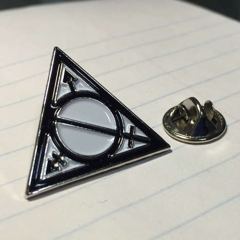 Magical Transgender Accessories - This Transgender Community-Supporting Harry Potter Pin is Niche
