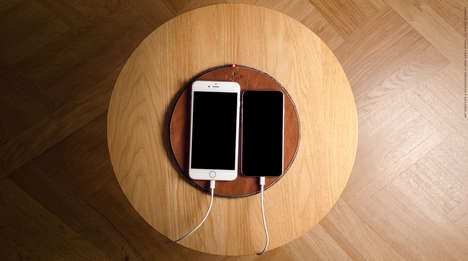 Tech Device Coasters - The Rest Station Offers a Stylish Place to House Tech Gadgets When Not in Use