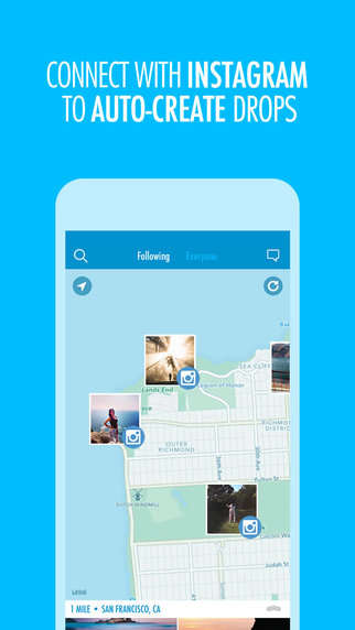 Location-Creating Photo Apps - The Drop Message Platform Virtually Leave Photos in Various Places