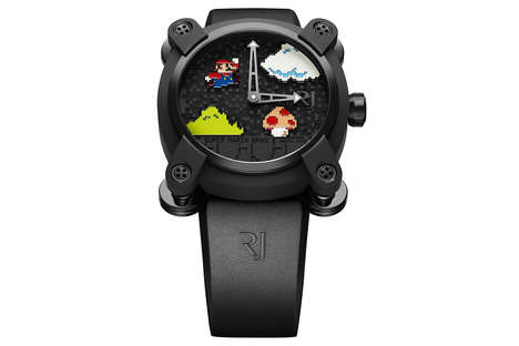 Luxe Gamer Watches - This Limited Edition Super Mario Bros Watch Celebrates the Game's Anniversary