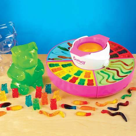 Gummy-Making Kits - This Set Allows Children to Create Their Own Homemade Sweets from Scratch