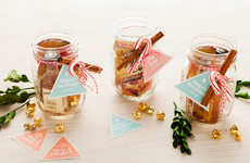 Mason Jar Cocktail Kits - This Pre-Made Beverage Set is a Simple and Festive DIY Gift