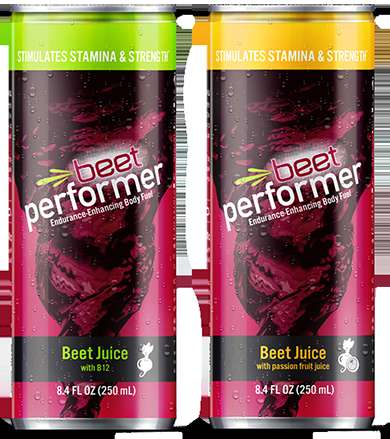 Performance Beet Juices - The Beet Performer is a Healthy Energy Drink to Improve Stamina