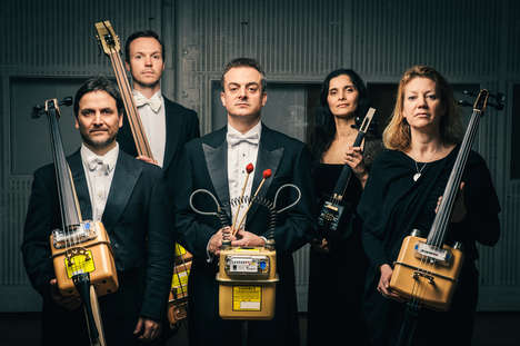 Upcycled Orchestra Instruments - This Orchestra Plays Recitals on Old Gas and Electricity Meters