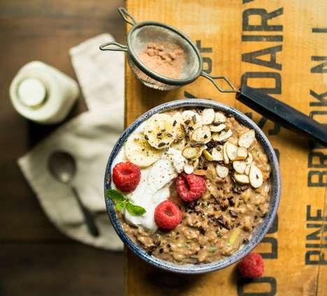 Chocolate Zucchini Oatmeal - This Unconventional Porridge Recipe is a Surprisingly Healthy Breakfast
