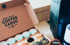 Rare Coffee Pod Subscriptions - Monthly Coffee Delivery Service Coffee Cargo Makes a Great Gift