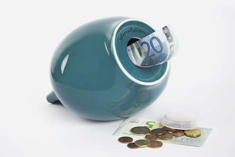 Size-Adjusting Piggy Banks - The Nola Money Box Has a Self-Altering Slot to Fit Bank Notes