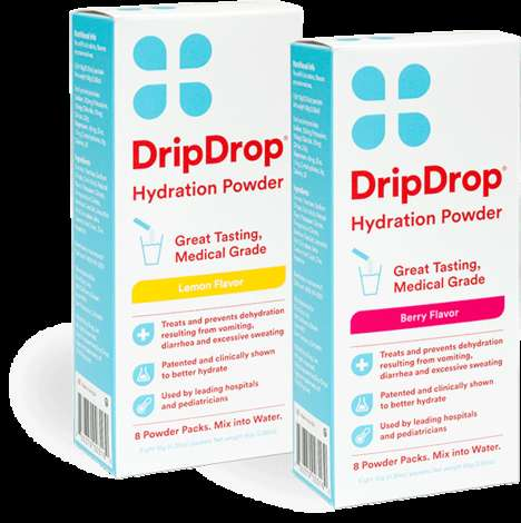 Electrolyte-Boosting Powders - The DripDrop Drink Packets Increase Hydration While Exercising
