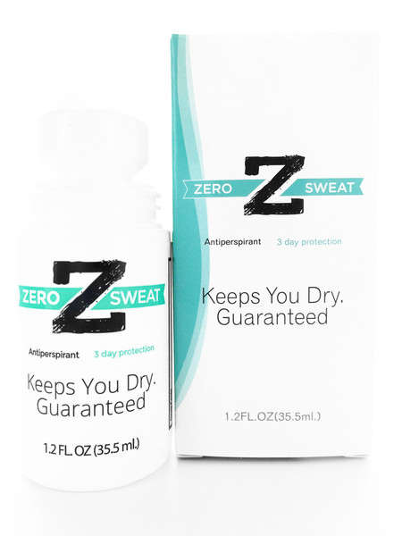 Intensive Sweat-Preventing Antiperspirants - The Zero Sweat Offers Several Days Sweat Resistance