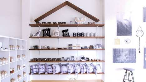 Contemporary Healing Shops - The HausWitch Store Offers Home Products that Promote Well Being