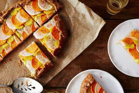 Savory Root Vegetable Galettes - This Festive Tart is Made from Medley of Root Vegetables