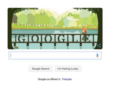 Author-Honoring Animations - Today Google Pays Tribute to Lucy Maud Montgomery and Anne Shirley