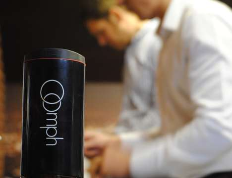 French Press Travel Mugs - The 'Oomph' Portable Coffee Maker Creates Scrumptious Brews On-the-Go