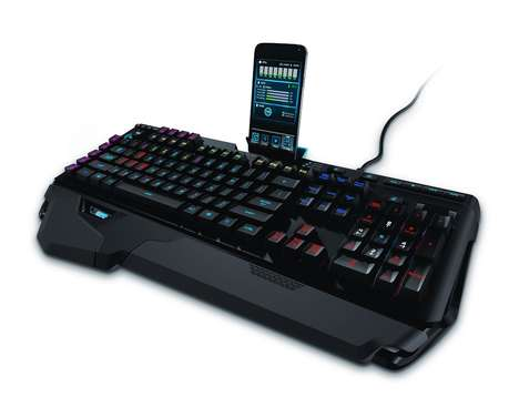 Customized Gaming Keyboards - The Logitech Orion Spark RGB Has a Dock for a Smartphone or Tablet