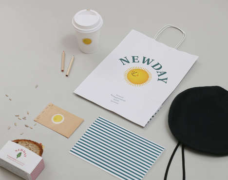Sunny Breakfast Branding - The New Day Packaging Concept is Charming and Convenient