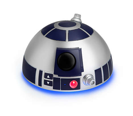 Droid Bluetooth Speakers - The Star Wars R2-D2 Bluetooth Speakerphone Takes Calls and Plays Music