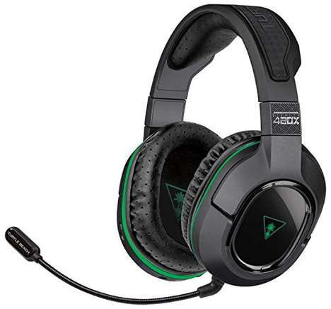 Voice-Monitoring Headphones - The Turtle Beach 'Ear Force Stealth 420X' Earphones are Gamer-Approved