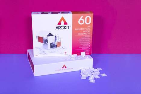 Architectural Model Systems - Arckit Allows Wannabe Architects to Bring Their Designs to Life