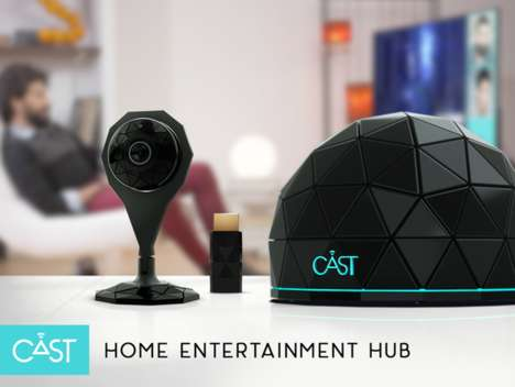 Multi-Device Streaming Hubs - The CAST by GENII Enables Social Television to Be Easily Adopted