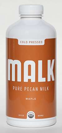 Flavorful Nut Beverages - MALK's Plant-Based Milk Products are Made from Almonds, Cashews and Pecans