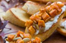 Cheesy Sweet Potato Appetizers