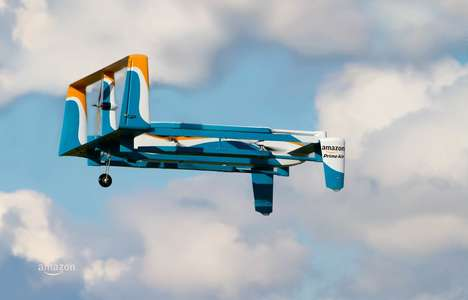 Ecommerce Delivery Drones - The New Amazon Prime Air Drone Delivers Packages in 30-Minutes