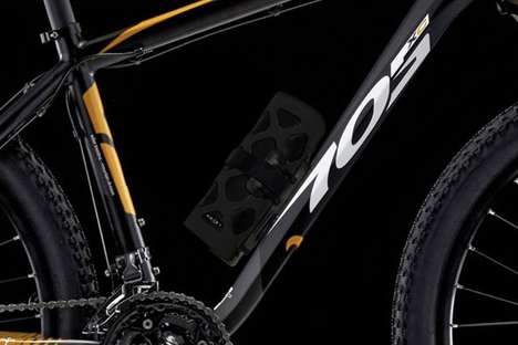 Savvy Cyclist Speakers - The Black NOIZY Kameleon Series Bicycle Speaker is Ready to Ride