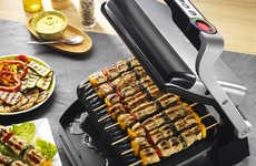 Smart Sensor Cookers - The T-fal OptiGrill Indoor Electric Grill Cooks Any Food in a Smart Manner