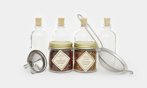 Artisan Sauce-Making Kits - This Homemade Hot Sauce Set is Ideal for Custom Spice Blends