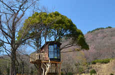 Whimsical Tiered Treehouses