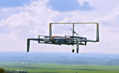 Drone Delivery Campaigns - Amazon Celebrates the Release of Prime Air Using Flying Robots