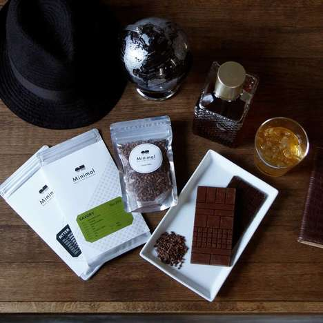 Chic Chocolate Bars - The Minimal Chocolate Eatery Offers Desserts With a Focus on Origin