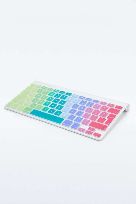 Rainbow Keyboard Covers - This Computer Accessory Makes Photoshopping More Colorful and Timely