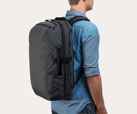 Airline-Approved Packs - The Minaal Carry-on 2.0 Travel Backpack is Optimized for Extended Trips