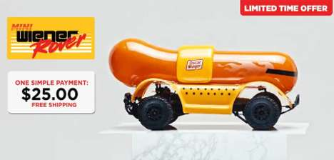 Remote-Controlled Hot Dogs - This Company is Now Selling a Miniature Version of Its 'Wiener Rover'
